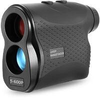 Telemetre telemetrique laser de golf 5-600P, noir 600m