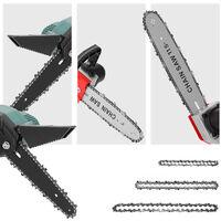 Mini chaine en acier de 6 pouces accessoires de scie a chaine electrique remplacement de la chaine de scie a chaine electrique