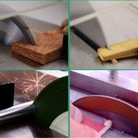 Mini-mini-scie a table multifonctionnelle modele de bricolage scie electrique de precision petite scie a table Wenwan petite machine de decoupe standard standard europeen 220V (pas besoin de retirer la table + alimentation + lame de scie)