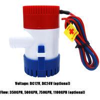 Pompe de cale Pompe a eau 350GPH 24V