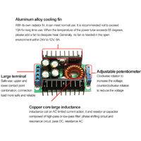 DC-DC abaisseur reglable tension constante courant constant haute puissance 10A LED de charge solaire module de voiture d'entrainement