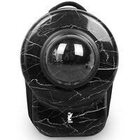 Sac a dos chat Pet bag, motif pierre noire