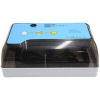 Incubateur domestique entierement automatique Egg-Turner 12 oeufs couveuse avec fonction de test LED,modele: prise ue multicolore