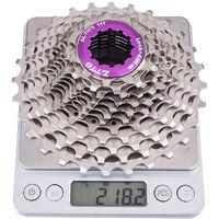 Velo de route a cassette 12 vitesses 11-28T Ultralight 12s 11-28T Pignon CNC, modele: Argent