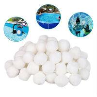 Filtre a billes fabricant piscine aquarium filtre materiel au lieu de filtre sable piscine fibre fibre 300g