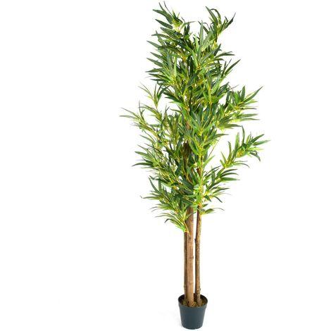 PLANTASIA/® Arbuste Marijuana Artificiel 150 cm