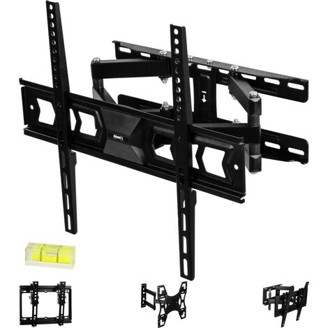 Support TV mural MOUNTY® MY232 double accroche, norme VESA 400 x 400 mm