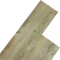 STILISTA® Lame de sol en Vinyle, pack 5,07m², pin de montagne