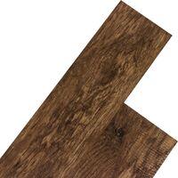 STILISTA® Lame de sol en Vinyle, pack 5,07m², noix rustique