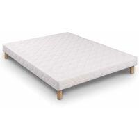 Sommier tapissier 160 X 200 cm + 4 pieds