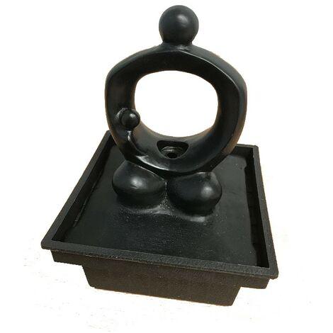 Fontaine eau couple électrique modèle 4 - Noir