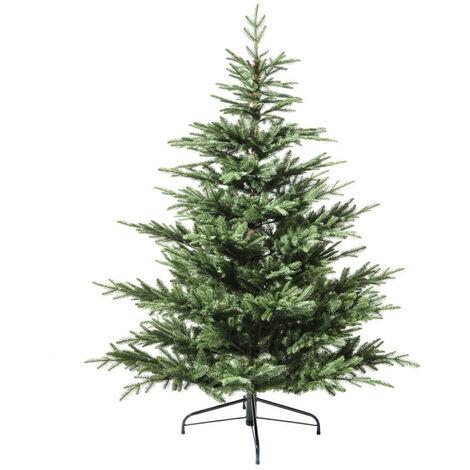 Sapin de Noël 150 cm vert Helsinki réaliste - Vert