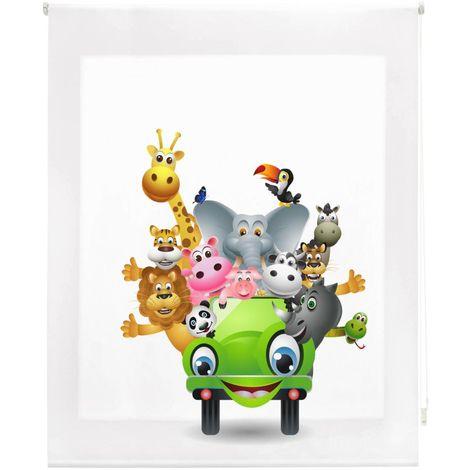 Estor Enrollable Happystor Estampado Digital Infantil HSCI91949 80x180cm