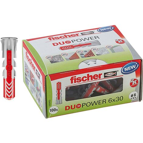 Fischer Universaldübel Duopower 6x30 LD 100 Stück