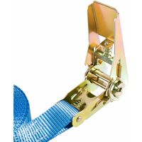 10x Arebos Sangle d'Arrimage à cliquet 800 kg, 6 m - bleu