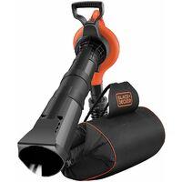 BLACK+DECKER GW3031BP Aspirateur souffleur broyeur 3000W avec sac à dos