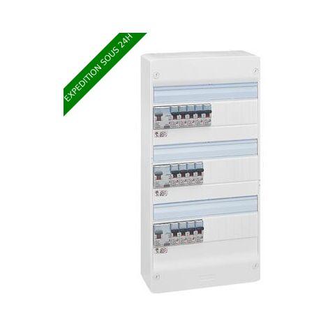 Legrand 093058 Essentiel Spécial Tableau Électrique Équipé pour Logement T5