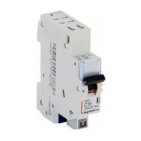 LOT DE 10 // LEGRAND DNX3 Disjoncteur 16A auto PH+N courbe C 4.5kA 230V - 406783