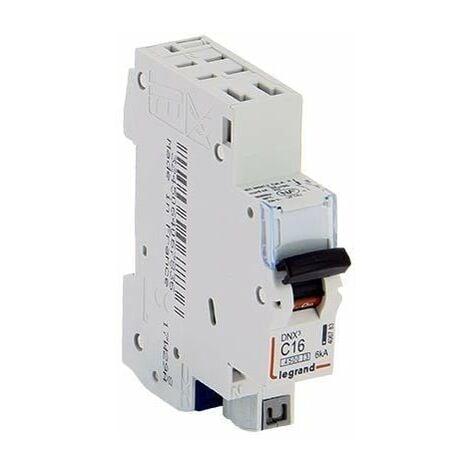 LOT DE 5 // LEGRAND DNX3 Disjoncteur 16A auto PH+N courbe C 4.5kA 230V - 406783