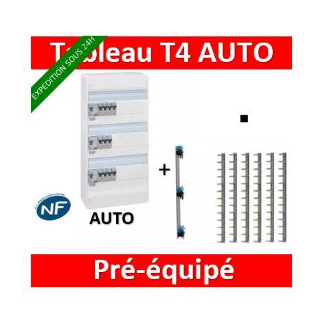 Tableau électrique Legrand 3 rangée t4 équipé