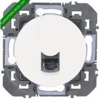 Legrand - Prise blindée RJ45 cat6 FTP dooxie finition blanc - Réf : 600376