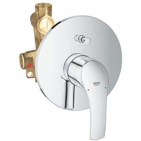 Miscelatore Monocomando per vasca/doccia Grohe EUROSMART 33305002 con deviatore
