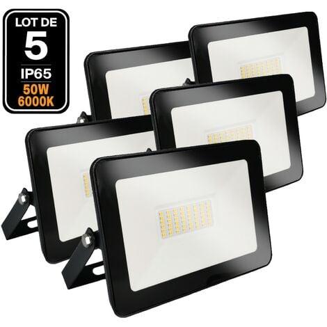 5 proyectores led 50 W Ipad Blanco frío 6000 K Alta luminosidad