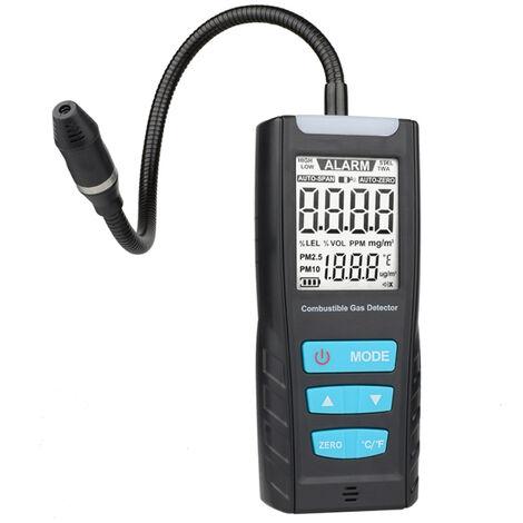 Medidor analizador de gas MESTEK, sensor de gas combustible automotriz