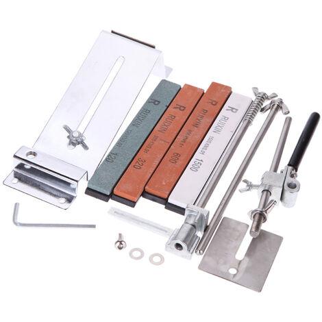 Kit de afilador de cuchillos de angulo fijo mejorado