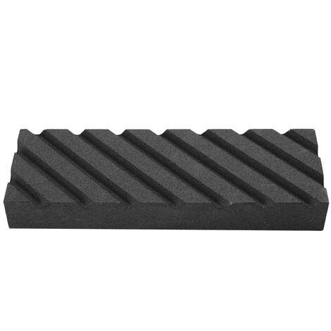 320 # piedra de aplanar para afilar cortador de carburo negro lapear piedra de afilar cortador de piedra de afilar herramienta de pulido