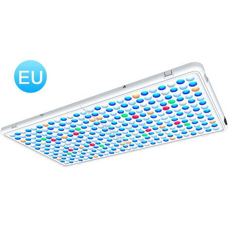 Luz para acuario, panel LED, luz impermeable para pecera