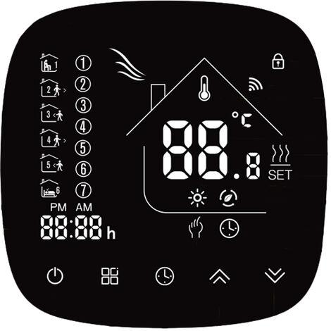 Termostato Wifi, con Pantalla LCD Tactil