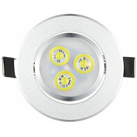 Luz LED empotrada en el techo, lampara de fijacion, luces superbrillantes