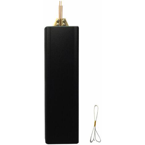 Maquina portatil Handhled de soldadura por puntos de bateria de litio de 5 V, soporte Wedling hoja de niquel de 0,1-0,2 mm
