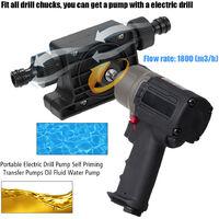 Bomba de taladro electrica portatil, bombas de transferencia autocebantes