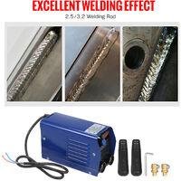 Soldador de arco inversor digital de 250 amperios, IGBT Stick 220V Mini soldadora electrica portatil