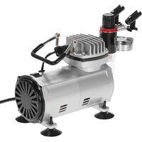 Conjunto de compresor de aire profesional KKmoon, con manguera de aire trenzada