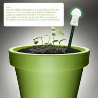 Medidor de humedad del suelo, barra de humedad del higrometro, sensor de humedad de la planta