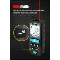 Telemetro laser digital portatil MESTEK,Negro, 50m