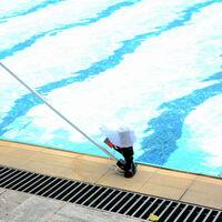Aspirador de piscina portatil, sin manguera de jardin incluida