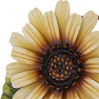 Tooarts Servilletero Daisy, creativo servilletero de hierro, adorno de arte moderno