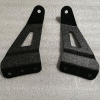 Para GMC parabrisas techo LED barra de luz de trabajo soportes de montaje para Chevrolet barra LED curvada