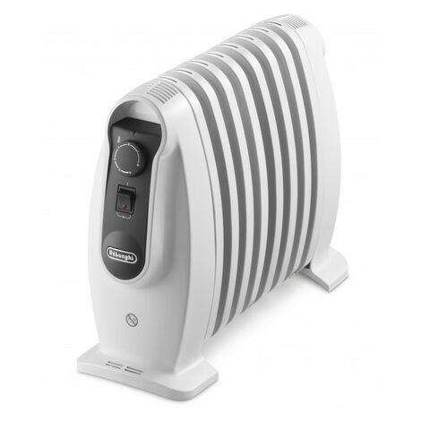 De'Longhi Radiador De Aceite NANO TRNS0808M. Calefactor Eléctrico Portátil Silencioso. Termostato. Mejor Uso Energía. 800 W
