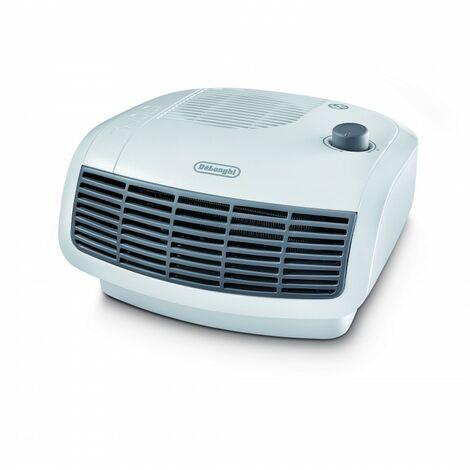 De'Longhi Termoventilador HTF3020. Calefactor Eléctrico Con Termostato. Potencia Ajustable. Protección Antigoteo. 2000 W