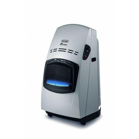 De'Longhi Estufa De Gas Variable Blue Flame VBF2. Regulación Automática De Potencia. Doble Sistema Seguridad. Ruedas. 4200 W