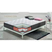 Colchón 90x190 cm Visco Thermo Spa - Grosor 26 cm - Muelles ensacados - Firmeza Media-Alta