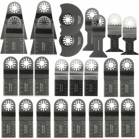 Hoja de sierra mixta 26x para multiherramienta oscilante Dewalt Fein Multimaster Bosch Makita