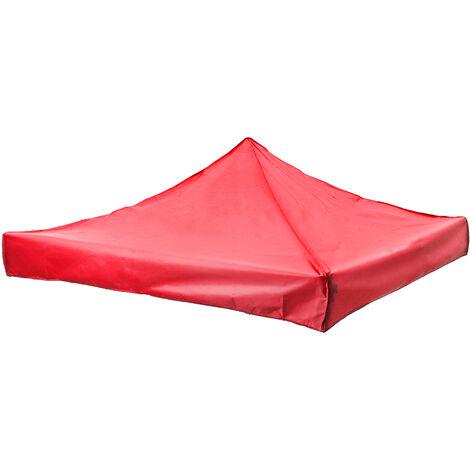 Toldo portátil de repuesto para carpa parasol exterior 2mx2m