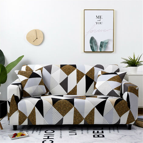 Fundas protectoras para sofá elástico de 4 plazas para sillón reclinable