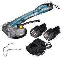 Máquina Niveladora Automática con 2 Baterías, Vibrador Eléctrico para Hogar, 40KG